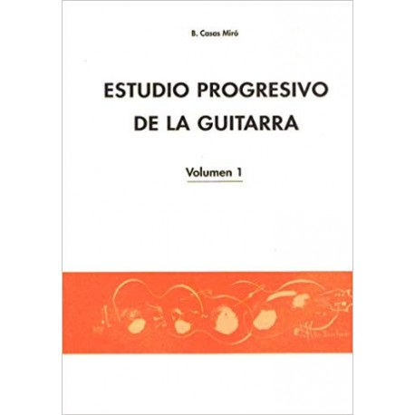 MIRO ESTUDIO PROGRESIVO DE LA GUITARRA VOL1