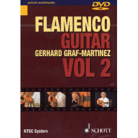 DVD GRAF MARTINEZ FLAMENCO GUITAR VOL.2  SMS118