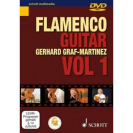 DVD GRAF MARTINEZ FLAMENCO GITARRENSCHULE 1 SMS117