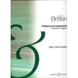 BRITTEN FOLKSONGS ARRANGEMENTS 6 BH5000127