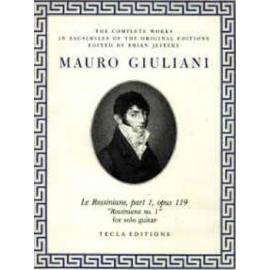 GIULIANI ROSSINIANE 1 OP119 TE615