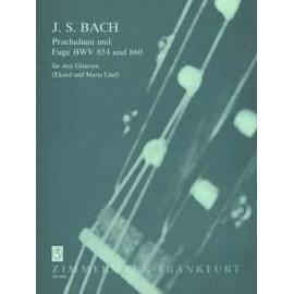 BACH PLELUDE ET FUGUE BWV854 BWV860 ZM2450