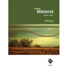 LAURENT MÉNERET MALAGA 4 GUITARES