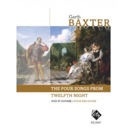 BAXTER 4 SONGS FROM TWELFTH NIGHT DZ2007