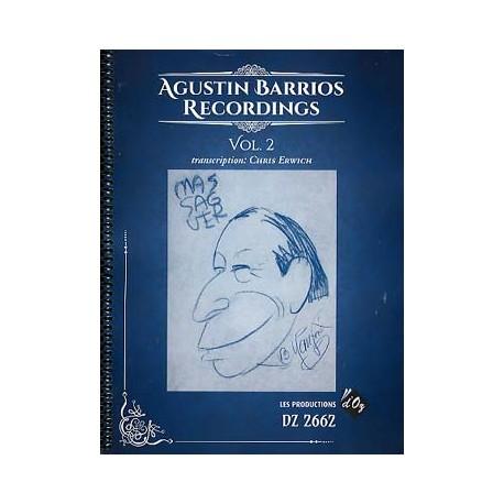 BARRIOS RECORDINGS 2 DZ2662