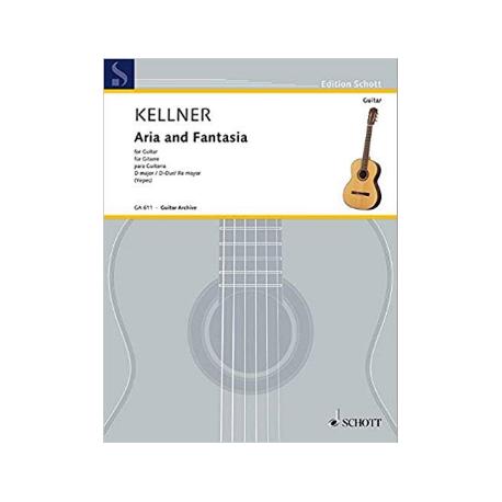 KELLNER ARIA AND FANTASIA  GA611