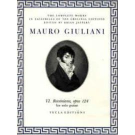 GIULIANI ROSSINIANE 6 OP.124 TE620