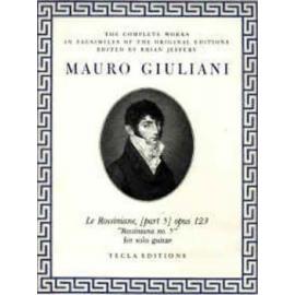 GIULIANI ROSSINIANE 5 OP.123 TE619