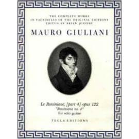 GIULIANI ROSSINIANE 4 OP.122 TE618