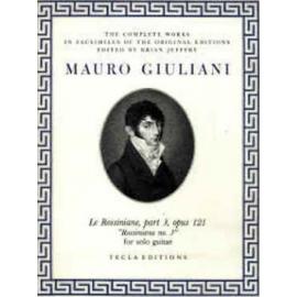 GIULIANI ROSSINIANE 3 OP.121 TE617