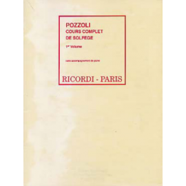 POZZOLI COURS COMPLET DE SOLFEFGE  R1232