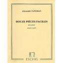 TANSMAN 12 PIECES FACILES 1ER RECUEIL  ME8002