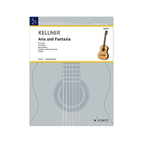 KELLNER ARIA AND FANTASIA  GA611