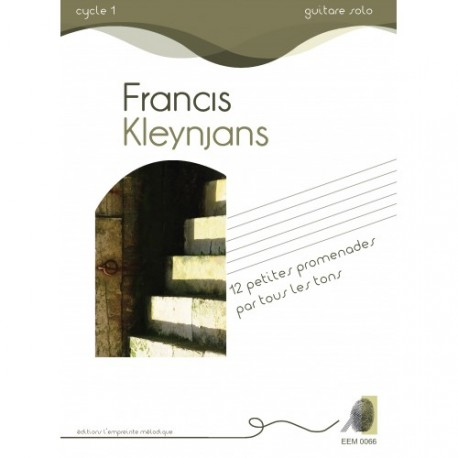 KLEYNJANS 12 PETITES PROMENADES PAR TOUS LES TONS EEM0066