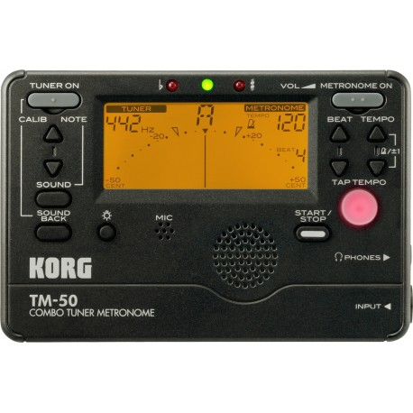 ACCORDEUR METRONOME KORG TM60 NOIR