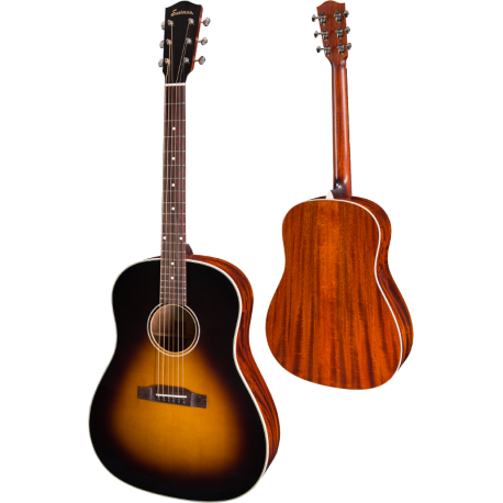 GUITARE FOLK EASTMAN DREAD EN ETUI E10SS
