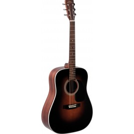 GUITARE FOLK SIGMA SUNBURST TABLE MASSIVE  DR28SB