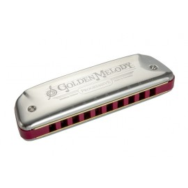 HARMONICA HOHNER GOLDEN MELODY RE DIATONIQUE
