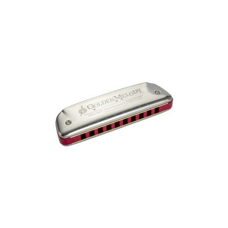 HARMONICA HOHNER GOLDEN MELODY LA DIATONIQUE