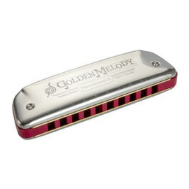 HARMONICA HOHNER GOLDEN MELODY SOL DIATONIQUE