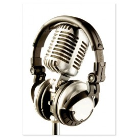 PORTE CLES LUXE MICROPHONE VIENNA T859