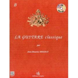 MOURAT LA GUITARE CLASSIQUE B (PACK PARTITION+CD)