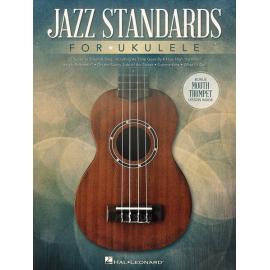 JAZZ STANDARDS FOR UKULELE HL141233
