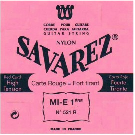 SAVAREZ CARTE ROUGE CORDE 1 MI 521R