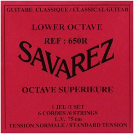 SAVAREZ OCTAVE INFERIEURE 75CM JEU 650R
