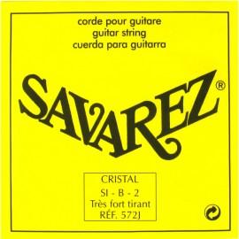 SAVAREZ CRISTAL JAUNE CORDE 2 SI 572J