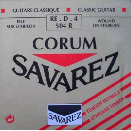 SAVAREZ CORUM ROUGE CORDE 4 RE 504R