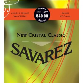 SAVAREZ NEW CRISTAL CLASSIC ROUGE JEU 540CR