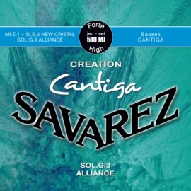 SAVAREZ CANTIGA CREATION TENSION FORTE  JEU 510MJ