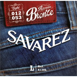 SAVAREZ FOLK BRONZE LIGHT 12/53 JEU A130L