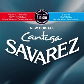 SAVAREZ CANTIGA NEW CRISTAL MIXTE JEU 510CRJ