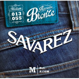 SAVAREZ FOLK BRONZE MEDIUM 13/55 JEU A130M