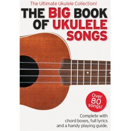 THE BIG BOOK OF UKULELE SONGS  AM1009052