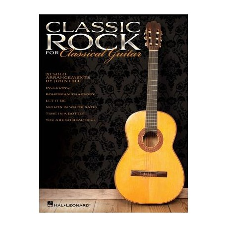 CLASSIC ROCK FOR CLASSICAL GUITAR HL00703633
