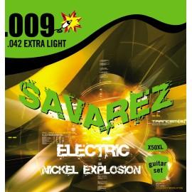 SAVAREZ NICKEL EXPLOSION X-LIGHT 09/42 JEU X50XL