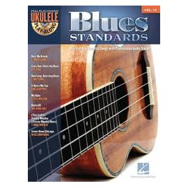 UKULELE PLAY-ALONG BLUES STANDARDS +CD VOL19