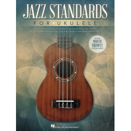 JAZZ STANDARDS FOR UKULELE HL141233