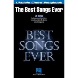 BEST SONGS EVER FOR UKULELE  HL00117050