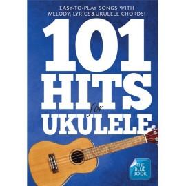 101 HITS FOR UKULELE BLUE BOOK  AM1008051