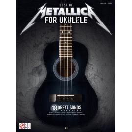METALLICA FOR UKULELE BEST OF 18 SONGS HL2502449