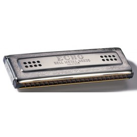 HARMONICA HOHNER ECHO DOUBLE DROIT 2X48 DO/SOL
