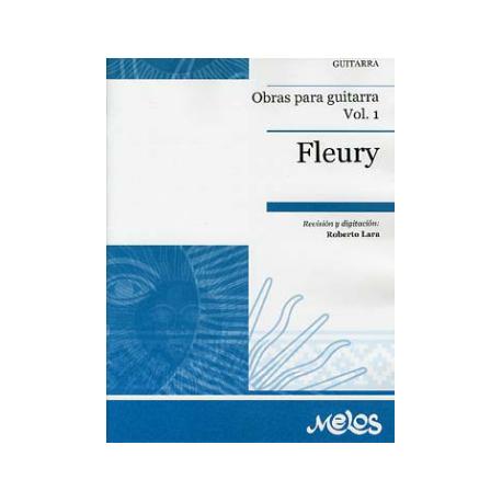 FLEURY OBRAS PARA GUITARRA VOL.1  MEL4007