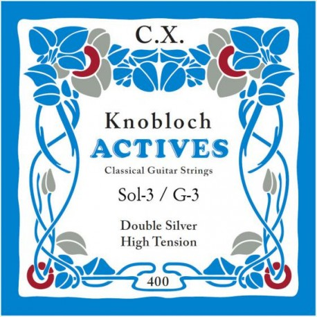 KNOBLOCH ACTIVES CX 2 SI MEDIUM TENSION 302KNOBLOCH ACTIVES CX 3 SOL HIGH TENSION 403