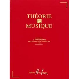 DANHAUSER THEORIE DE LA MUSIQUE