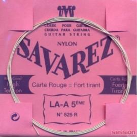 SAVAREZ CARTE ROUGE CORDE 5 LA 525R
