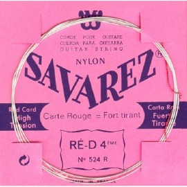 SAVAREZ CARTE ROUGE CORDE 4 RE 524R